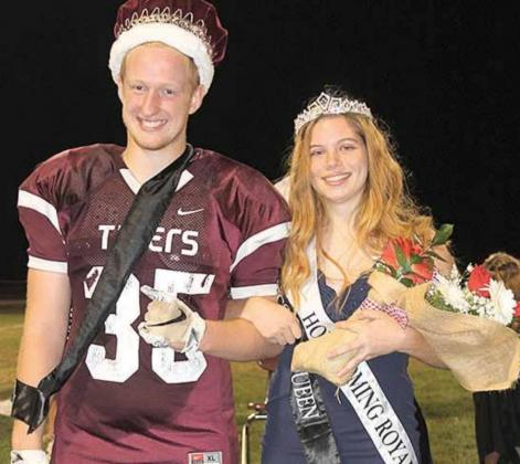 Lewiston's 2020 Homecoming Royalty is King Jonathan Janssen and Queen Masyn Arena. Paula Jasa/Republican